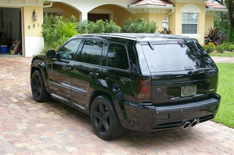 Murdered Out Jeep Grand Blacked Out Jeep Srt8 Cars Cars