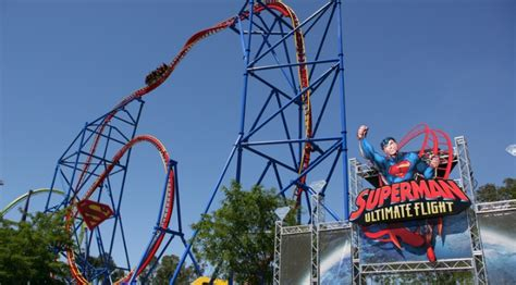 Family Garden Williamsburg - early reviews amp video of superman ultimate flight six flags discovery kingdom the coaster critic