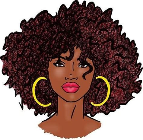 natural hairstyles cartoon african american natural hair clipart 40