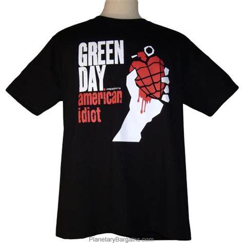 American Idiot Tshirt green day american idiot shirt vintage american idiot