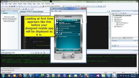 windows 10 mobile development tutorial windows mobile application development tutorial using c