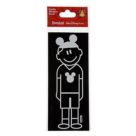 Window Decals Disney by Disney Window Decal Dad With Mickey Mouse Ear Hat
