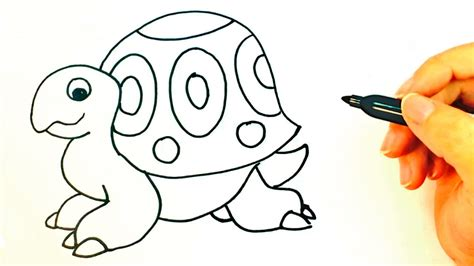 imagenes de tortugas faciles para dibujar c 243 mo dibujar una tortuga para ni 241 os dibujo de tortuga