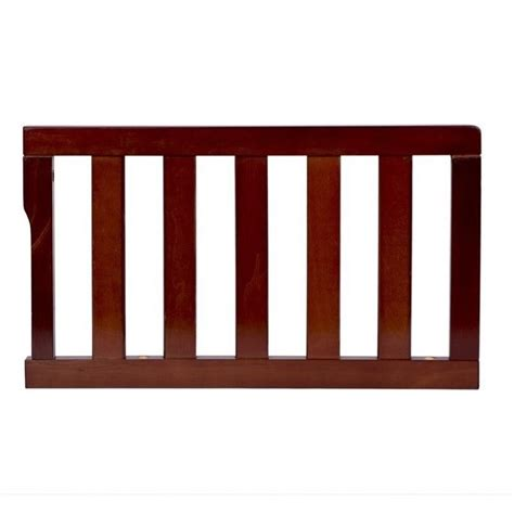 Convertible Crib Guard Rail On Me Universal Convertible Crib Guard Rail In Espresso 692 E