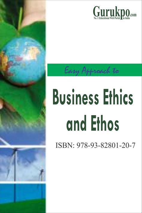 Business And Ethics Mba by Business Ethics And Ethos Free Study Notes For Mba Mca