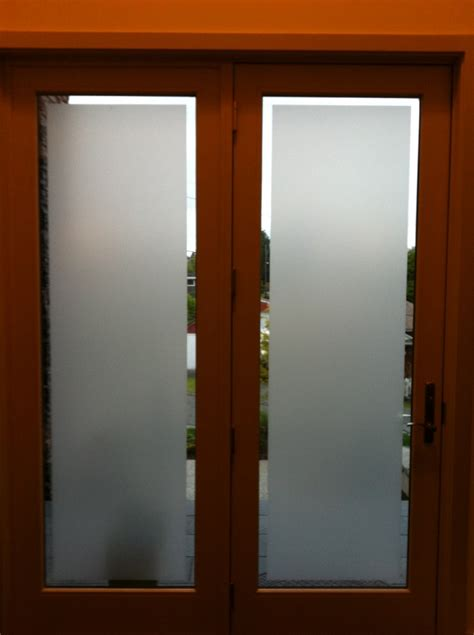Frosted Front Door Uv Privacy Residential Window Frosted Tint Fog Glare Curtains Protection Tv Ebay