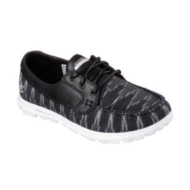 935hrm Sepatu Boat Fashion Wanita jual skechers on the go boat shoes sepatu olahraga wanita black 13837bkw harga