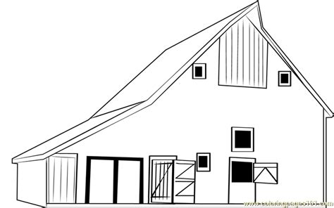 barn coloring pages barn mattoon coloring page free barn coloring pages