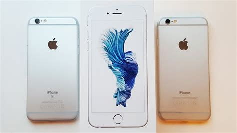 iphone 6s unboxing comparison