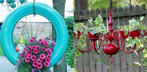 garden basket ideas hanging planter ideas oversixty