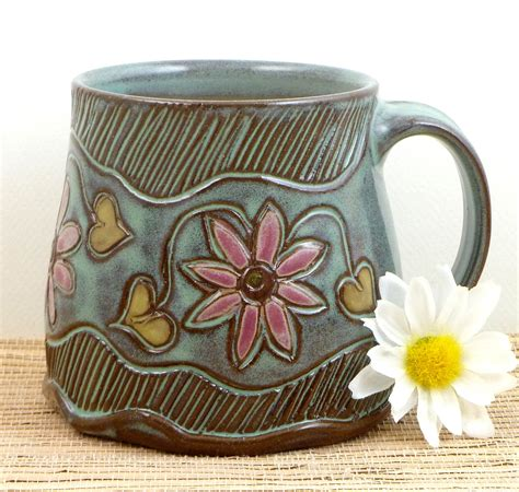 Pottery Mugs Handmade - handmade pottery mug