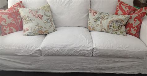 cleaning slipcovers gorgeous shiny things real life white slipcovers keeping