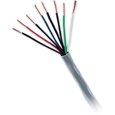 honeywell genesis honeywell genesis low voltage cable gray 500 reel 1118