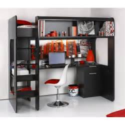 lit mezzanine solde chambre 224 coucher
