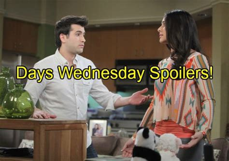 days of our lives spoilers chad and belle grow closer days of our lives spoilers chad bids abigail farewell