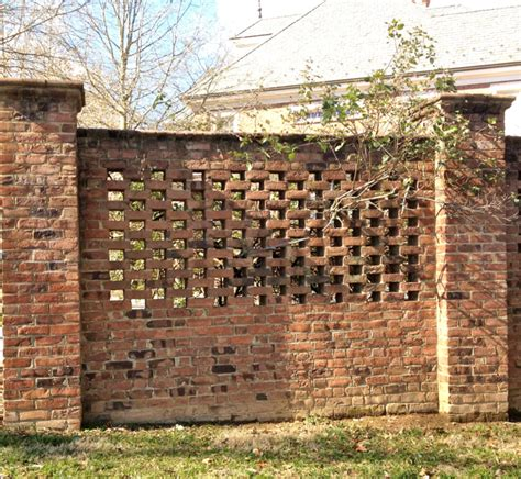 Brick Galleries Garden Brick Walls