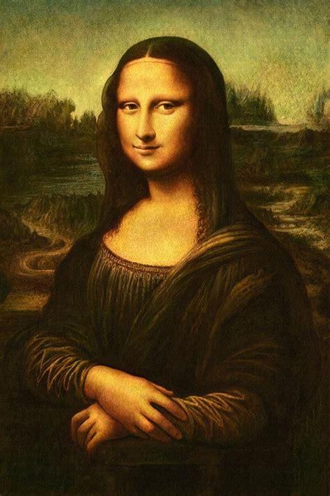 painting mona mona painting by leonardo da vinci