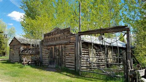 ft bridger wyoming outdoor blacksmith shop
