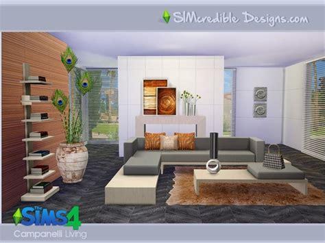 sims 4 modernes wohnzimmer sims 3 und sims 4 downloads - Sims 4 Wohnzimmer