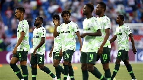 nigeria vs islandia por el mundial 2018 formaci 243 n d 237 a