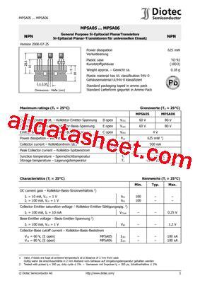 transistor mpsa06 datasheet transistor mpsa06 datasheet 28 images mpsa06 datasheet pdf weitron technology mpsa06