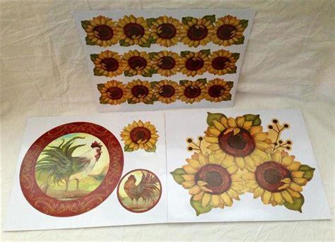 country sunflower kitchen decor description
