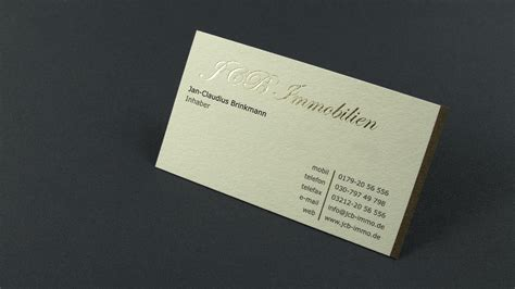 Visitenkarten Englisch by Visitenkarten Einzelblatt Klappkarte Kartonbl 228 Tter