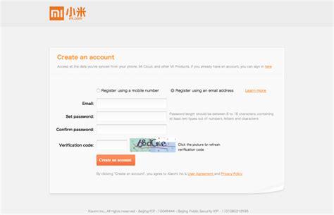 email xiaomi indonesia begini cara mendaftar akun xiaomi