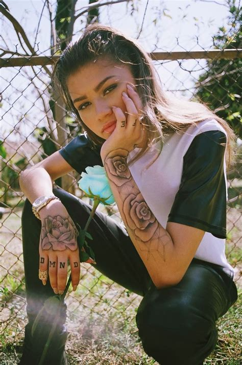 zendaya tattoo 17 best images about bad badass on bad