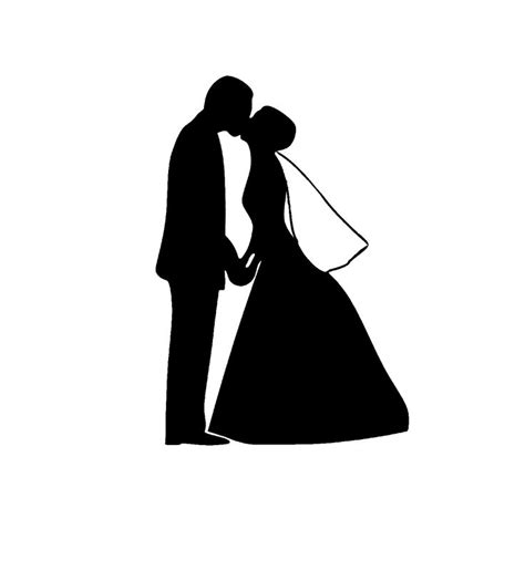 Wedding Silhouette by Wedding Clip Silhouettes