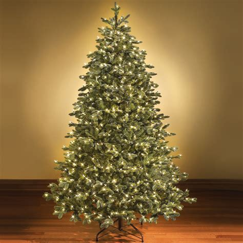 artificial white christmas trees