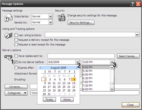 How To Search Outlook Email By Date How To Set Up Microsoft Outlook To Schedule Email Delivery