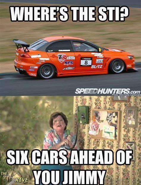 Subaru Sti Meme - evo vs sti