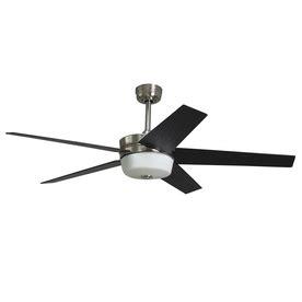 santa ana ceiling fan harbor breeze santa ana brushed nickel brushednickel biz