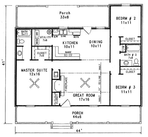 Starter Home Plans by Great Starter Home