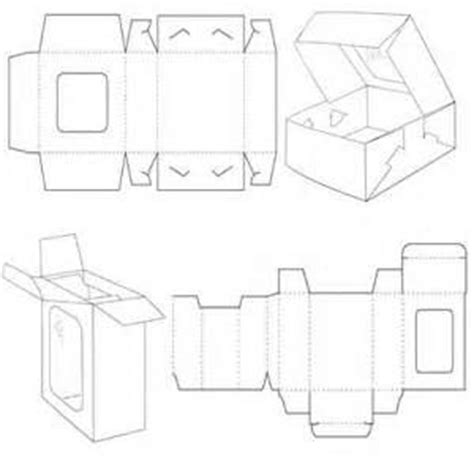 Paper Folding Box Template - best 25 paper box template ideas on