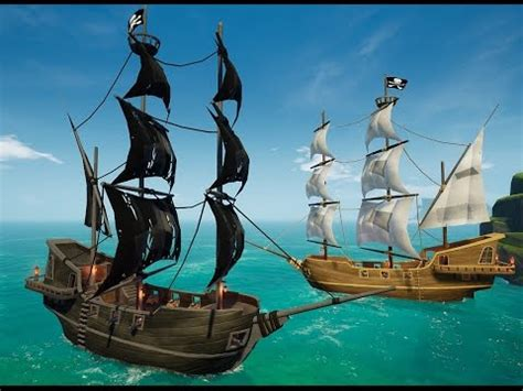 Black And The Ship Of Thieves skulls timber ship combat early gameplay preview