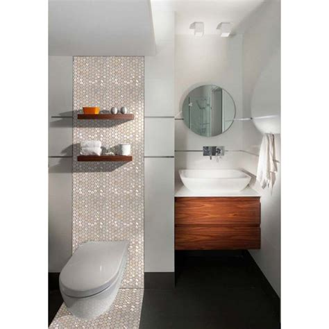 pearl tiles bathroom mother of pearl tiles penny round bathroom wall mirror tile
