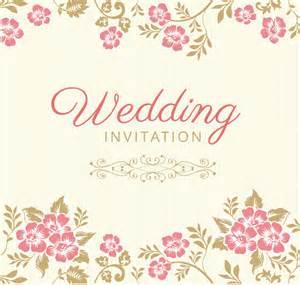 design wedding invitation cards free 10 free vector psd floristic wedding invitation card