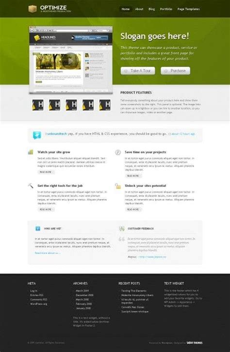 theme wordpress optimizer optimize wordpress theme avj themes