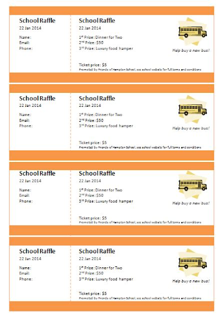 Print Numbered Tickets In Word Raffle Ticket Creator Numbered Raffle Ticket Template