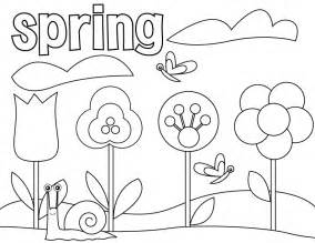 spring coloring pages preschoolers 2013 coloring point