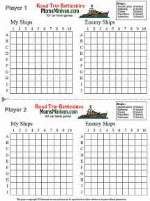 Excel Battleship Template by Battleships Printable