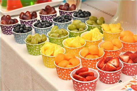 food kanister küche obst kindergeburtstag motto geburtstag regenbogen fruechte
