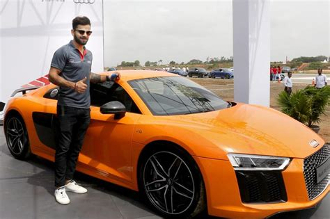 cost of audi car in india photos virat kohli launches audi r8 v10 plus its most