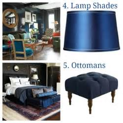 5 ways to use navy blue decor home decorating