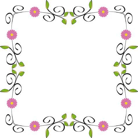 Desain Bingkai Bunga | desain inspirasi bingkai bunga frame bunga png or