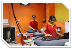 Alat Pres Plastik Laundry branding uai 5 perusahaan franchise