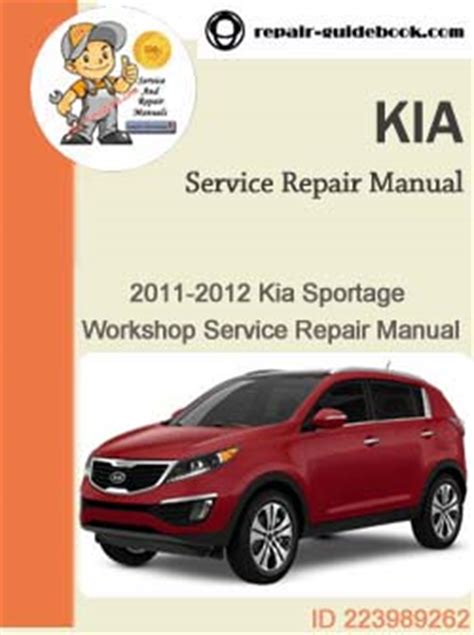 Kia Sportage Owners Manual 2009 Kia Sportage Oem Service Manual Pdf Autos Post