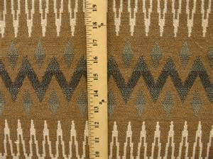 Navajo Upholstery Fabric Woven Geometric Southwestern Navajo Aztec Tribal